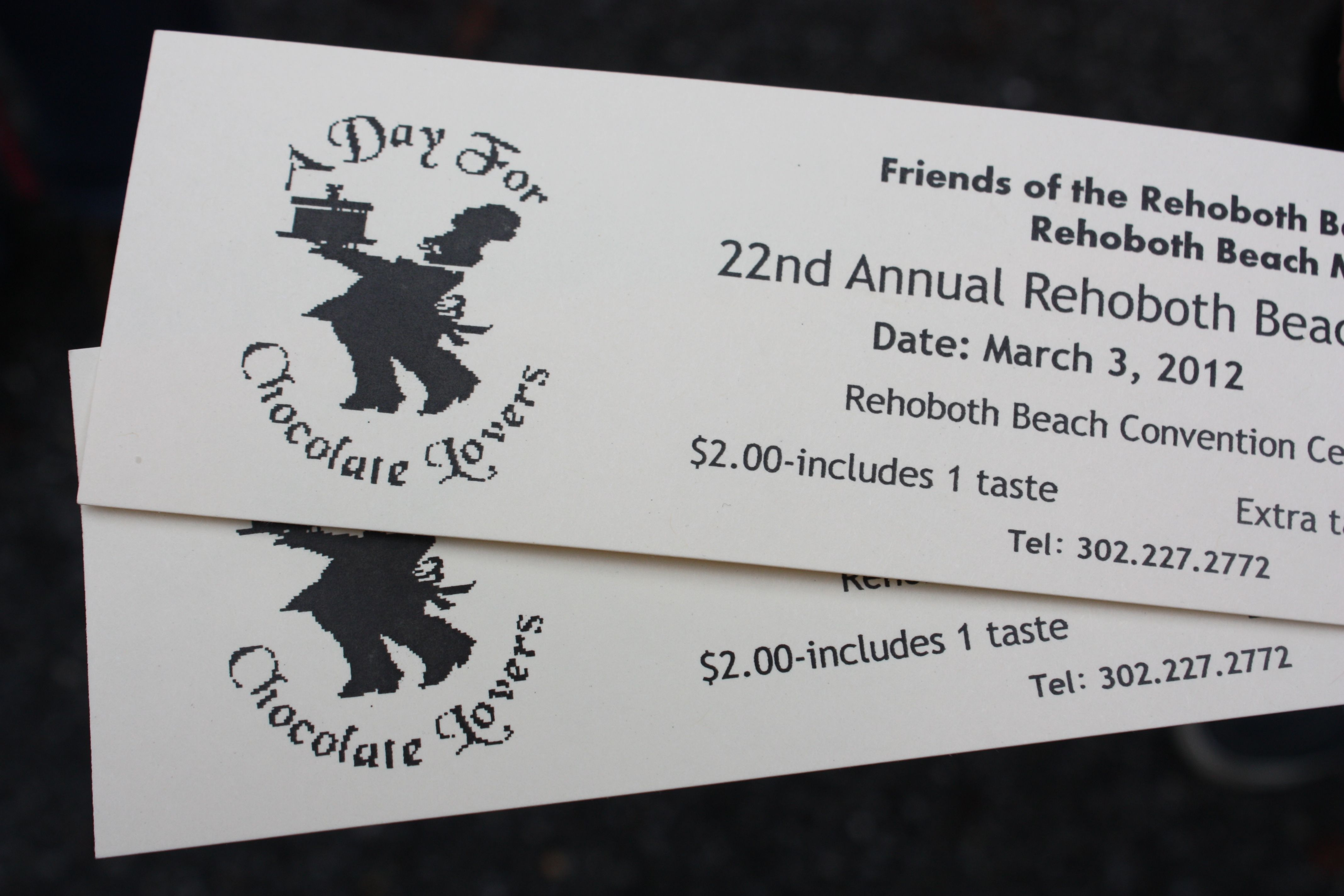 Rehoboth Beach Chocolate Festival Tickets