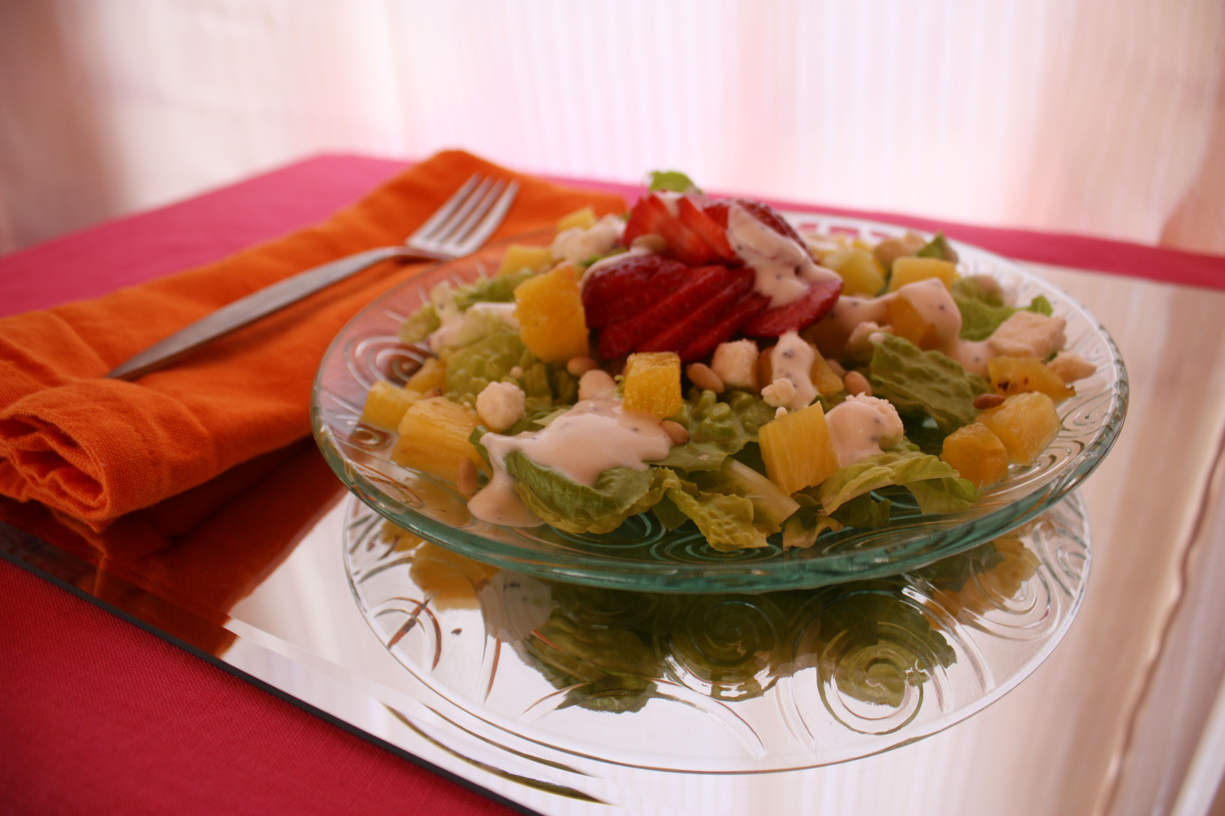 Pinapple Salad from Far Away